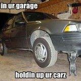 im in your garage