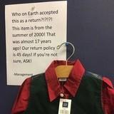 Jonathan Taylor Thomas returned his wardrobe from Home Improvemen