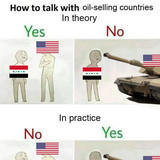 How to talk with oil-selling countries