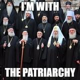 I'm With The Patriarchy...literally...