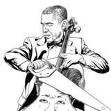 Obama and Cello