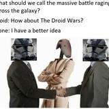 Droid wars