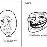 Life hates us
