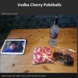 vodka cherry pokéballs