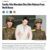 Otto Warmbier Dies a Week After Returning from NK
