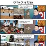 only one idea