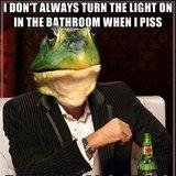 Most Interesting Frog in the Pond