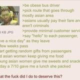 Anon is a Bus Driver