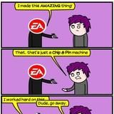 Sparky Doodles: EA and the LATEST PRODUCT
